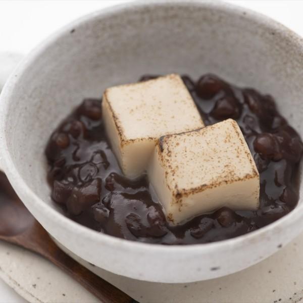 焼:焼き胡麻豆腐ぜんざい